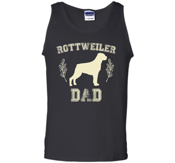Rottweiler Gifts Rottweiler Dad Shirt Father's Day Dog Lover