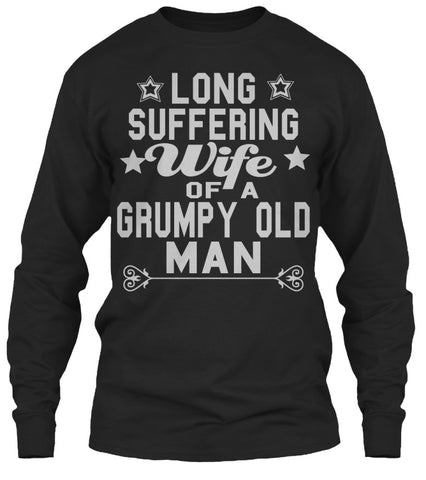 Grumpy Old Man Wife