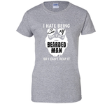 Funny Bearded Man So I Cant Help It T-shirt Fathers Day Gift