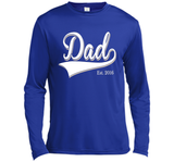 Men's Dad Est. 2016 T Shirt Fathers Day Gift for New Daddy gift