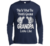 Father's Day Gift World's Greatest Grandpa Looks Like Tshirt