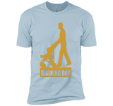 Walking Dad T-Shirt Gift Father's Day Tee
