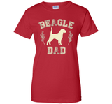 Beagle Gifts Beagle Dad Shirt Father's Day Dog Lover Gift