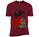 Happy mothers day t shirt - i love mom - mom shirt  - mother's day