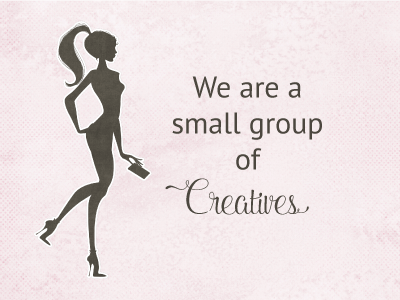 We are a small group of creaters.