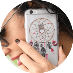 Dream Catcher phone case.