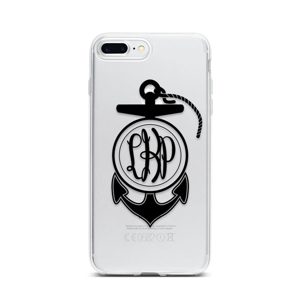 Anchor with Monogram Phone Case
