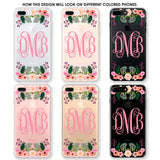 Blooming Monogram Phone Case