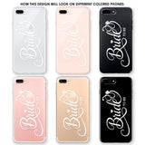 Bride To Be with Diamonds Phone Case