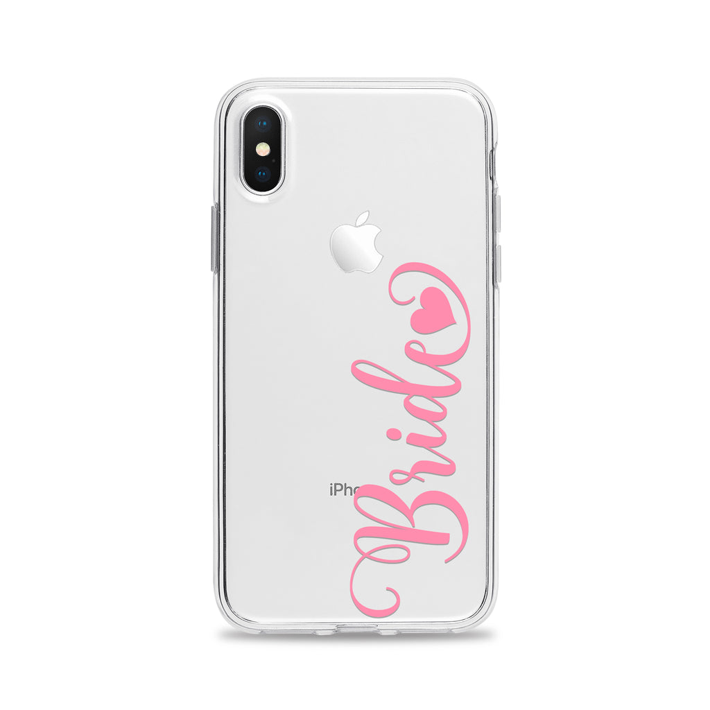 Bride with Heart Phone Case