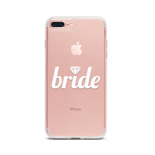 Bride with Single Diamond Phone Case