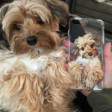 Custom Illustrated Dog Phone Case