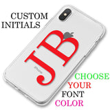 Custom Large Initials Phone Case