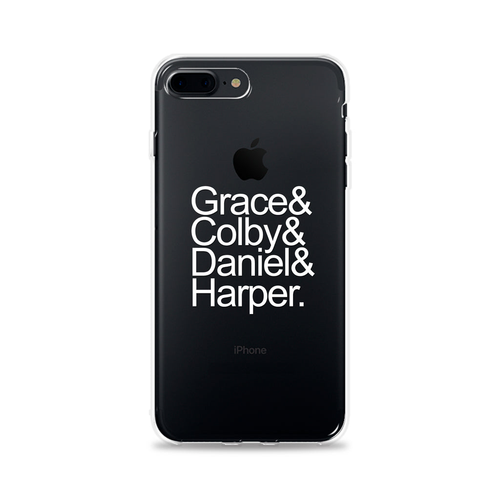 Custom Names Phone Case