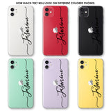 Custom Text Jasmine Font Phone Case