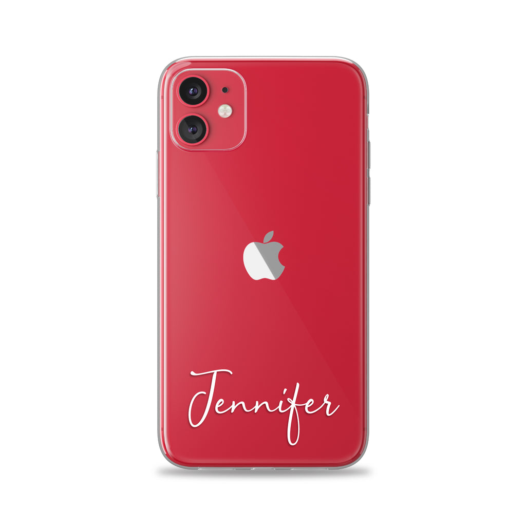 Custom Text Jennifer Font Phone Case