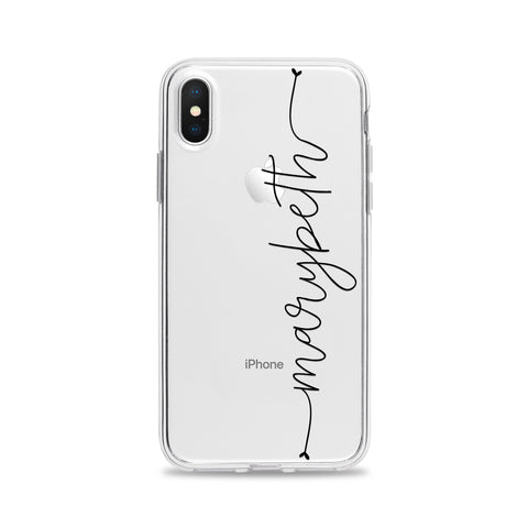 Custom Text Marybeth Font Phone Case