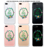 Emerald Wreath Phone Case