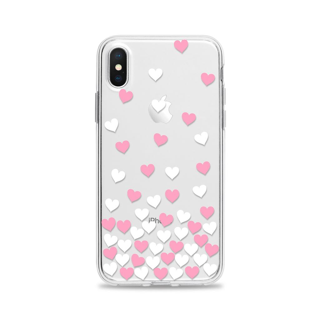 Falling Hearts Phone Case