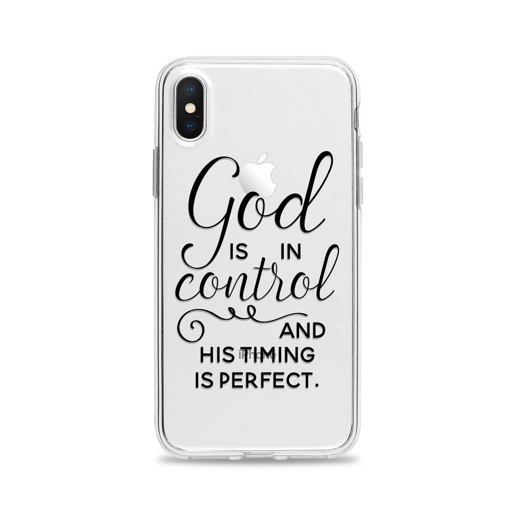 God is in Control Phone Case