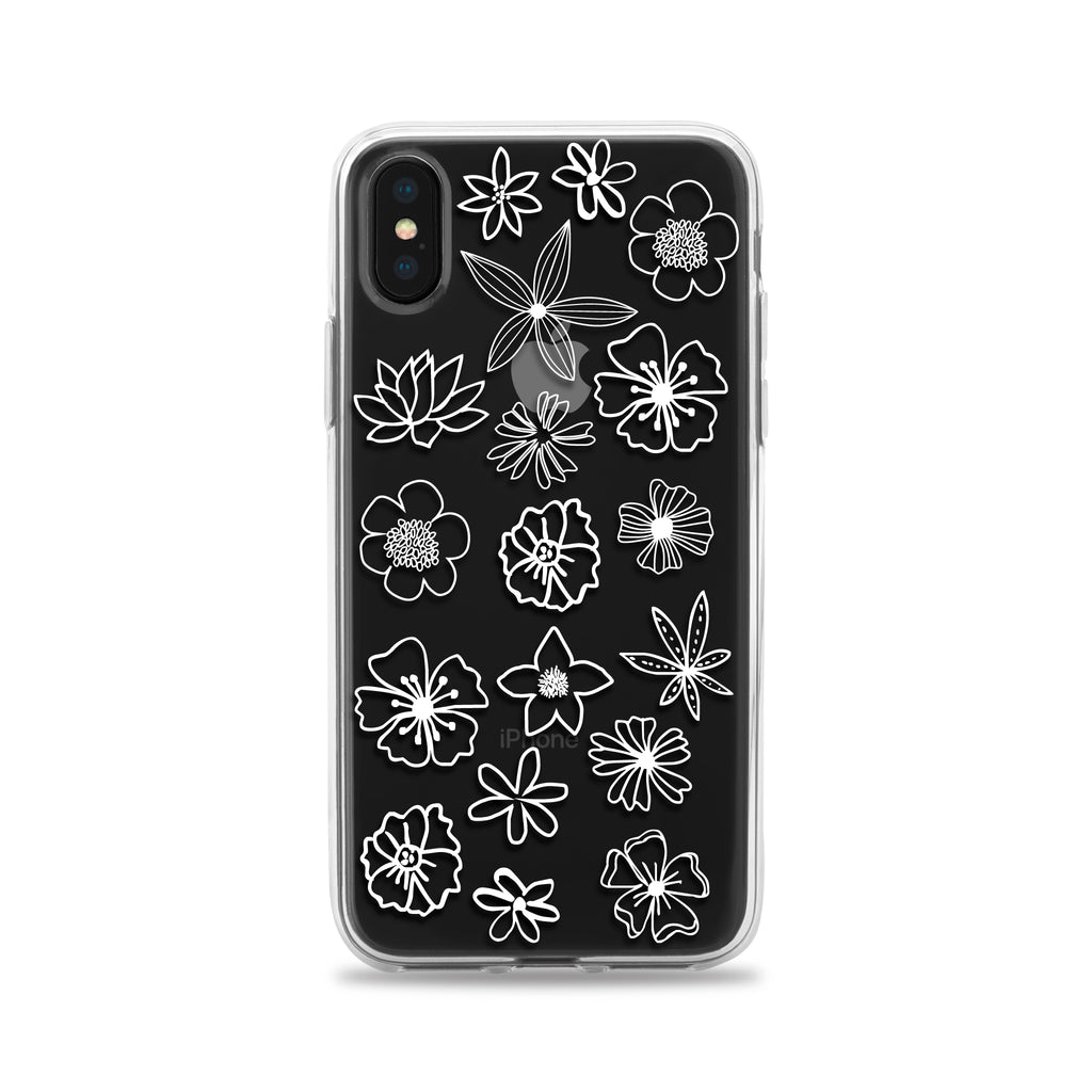 Hand Drawn Flowers Phone Case