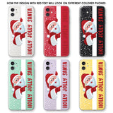 Holly Jolly Santa Phone Case