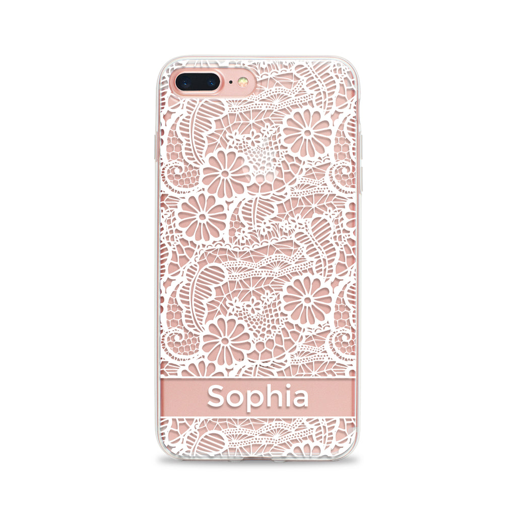 Lacy Daisy Phone Case