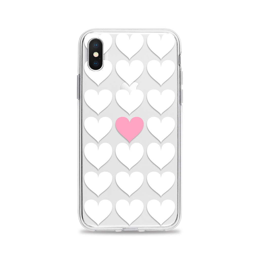 One Pink Heart Phone Case
