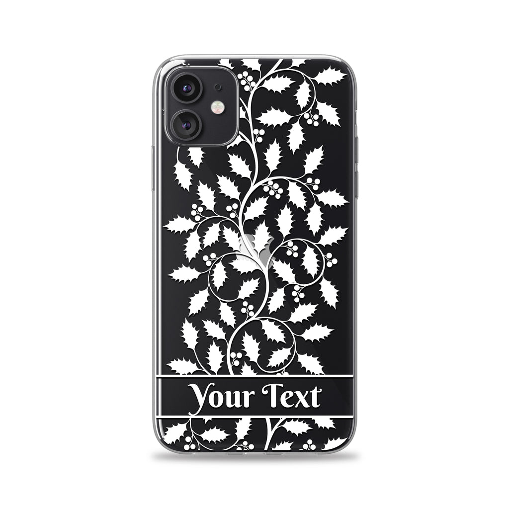 Paper Holly Phone Case