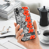 Poppies and Lace Phone Case