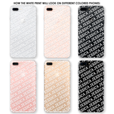 Repeating Names Phone Case