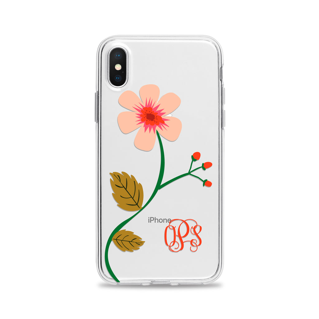 Single Flower Phone Case