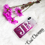 Stardust Glitter Phone Case with Large Initials