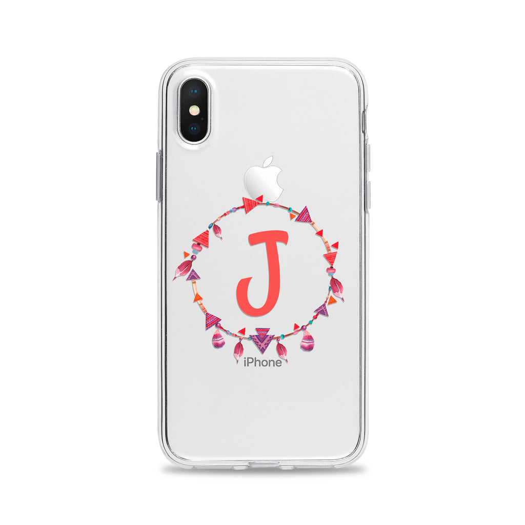 Tribal Ring Letter Phone Case