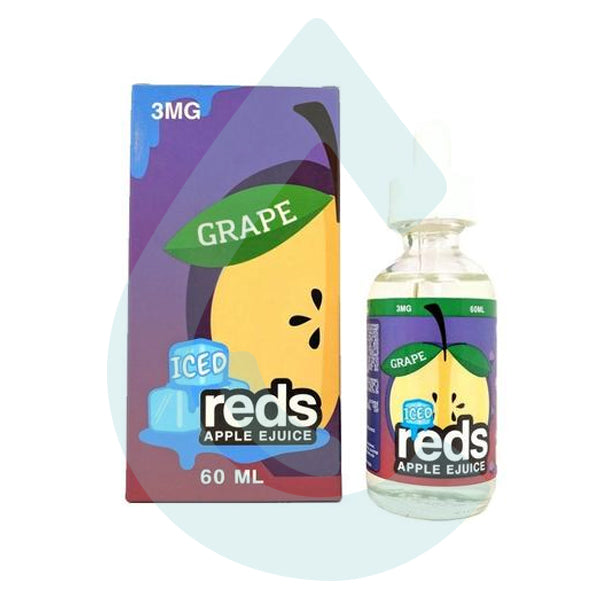 7daze - Red's Iced Grape Ejuice