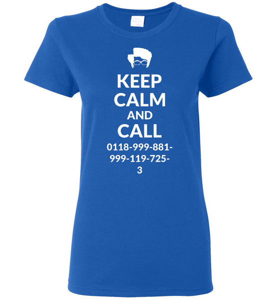Keep Calm and Call Moss
