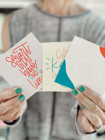 confidence cards