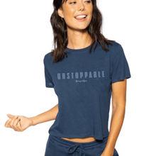 unstoppable t-shirt cropped for adults