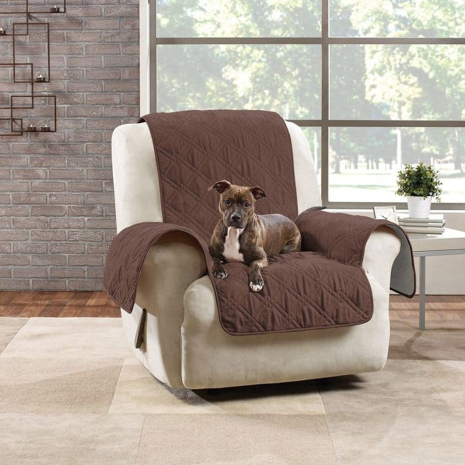 Non-Slip Waterproof Recliner Furniture Cover | Pet Furniture Cover | Machine Washable