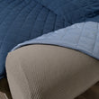 Reversible Loveseat Furniture Cover | Quilt Stitched with Arm Covers