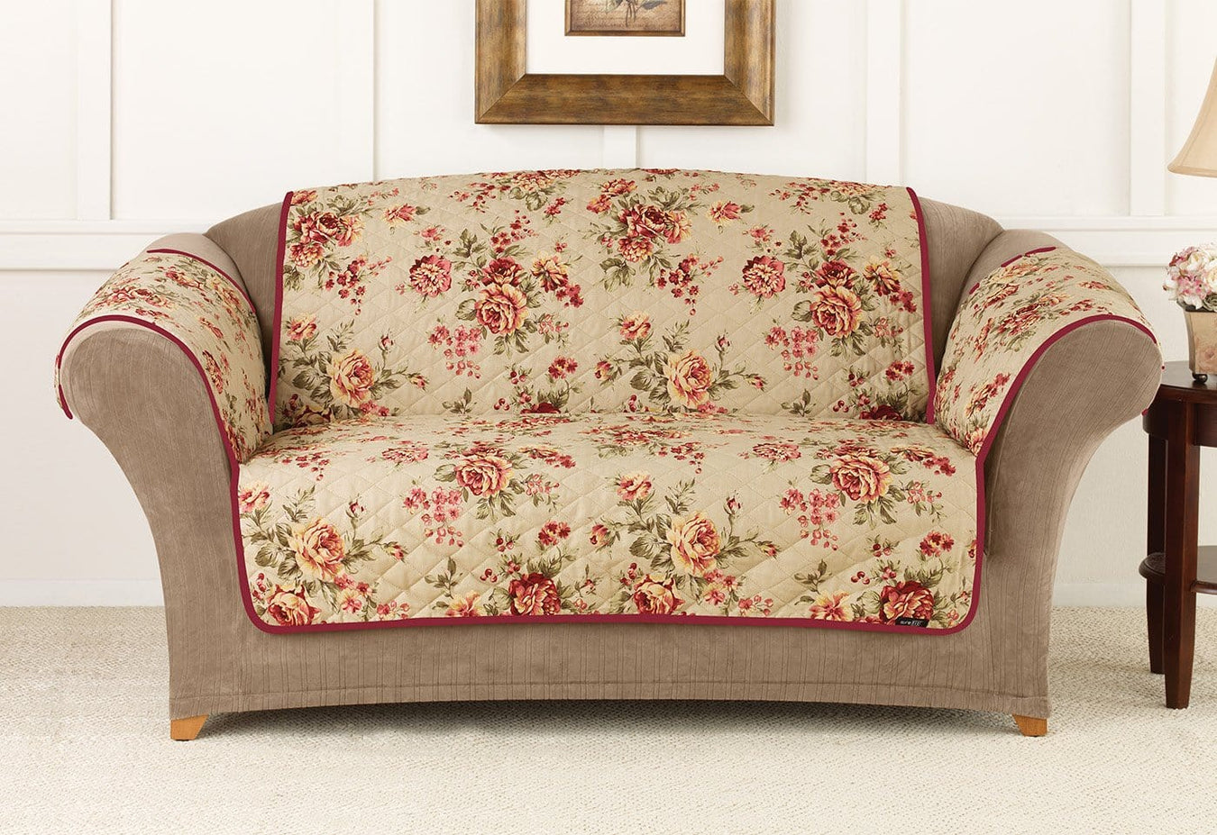 Lexington Floral Pet Throw Loveseat
