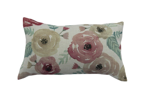 Abbi Floral   14 x 24 inch Decorative Pillow