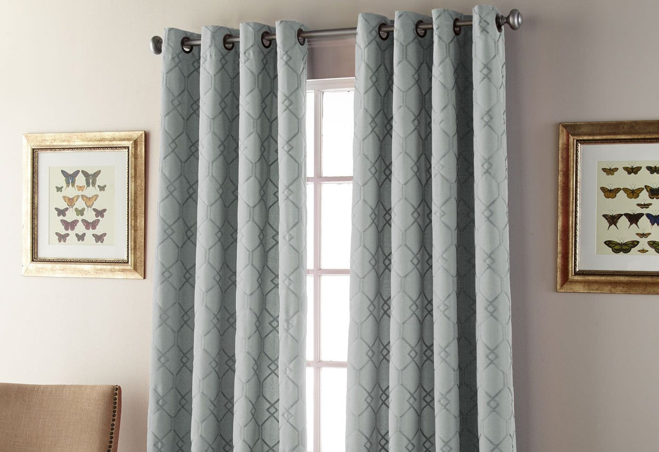 Kings Gate Window Curtain