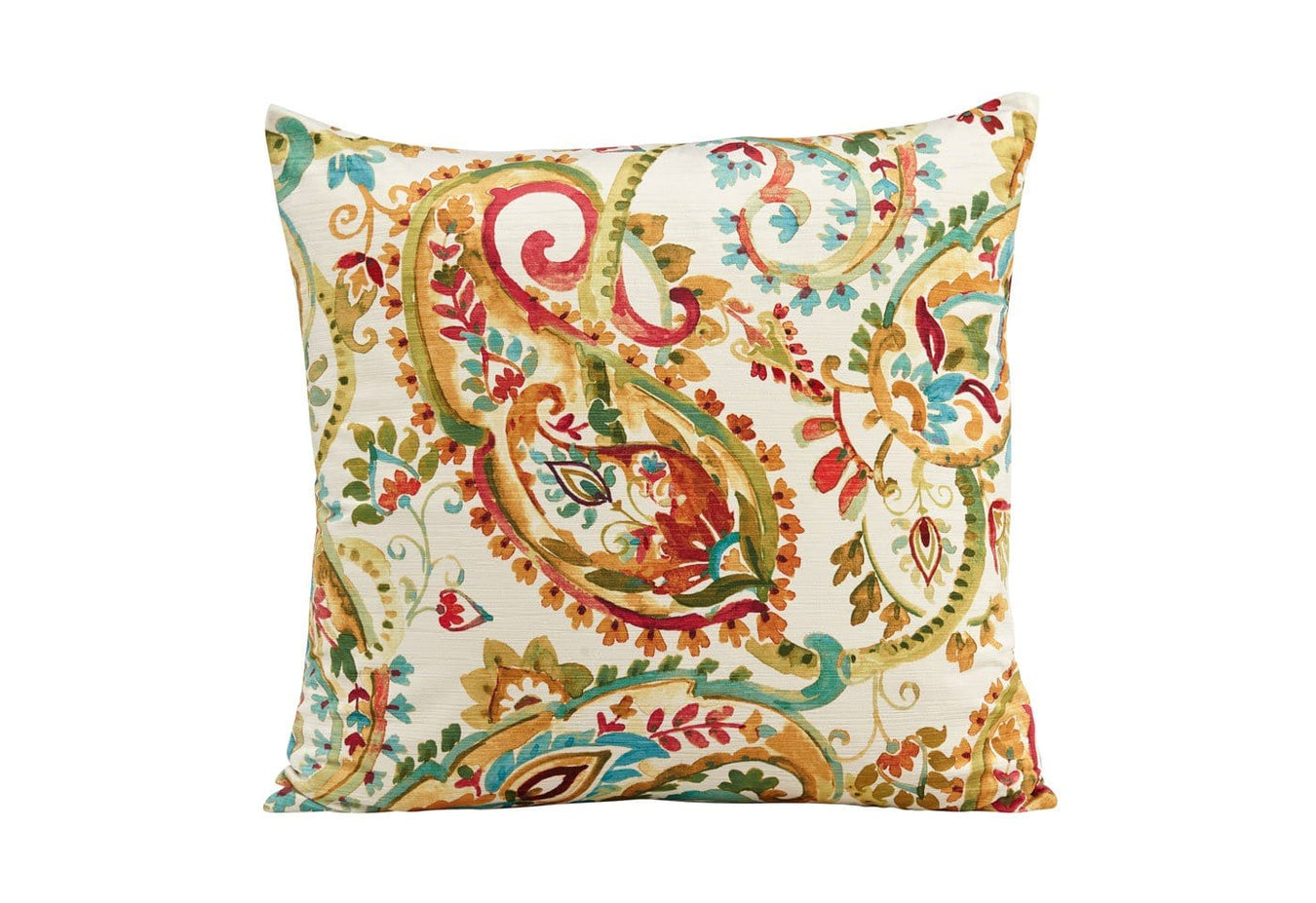 Indira Persimmon Decorative Pillow