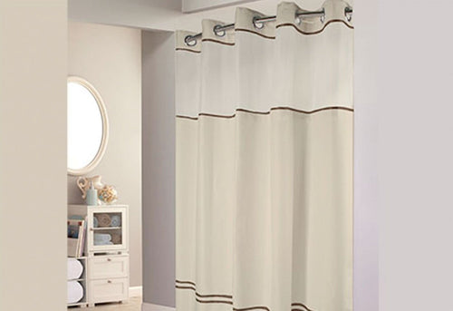 Hookless Escape Shower Curtain