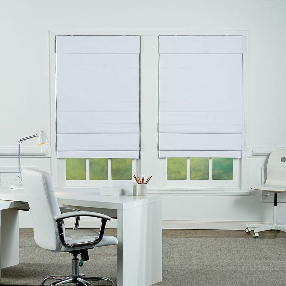 Insulating-Cordless-Roman-Shade_White_2