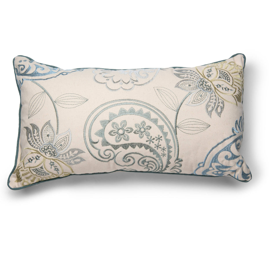 Juniper Paisley 14 Inch X 24 Inch Decorative Pillow