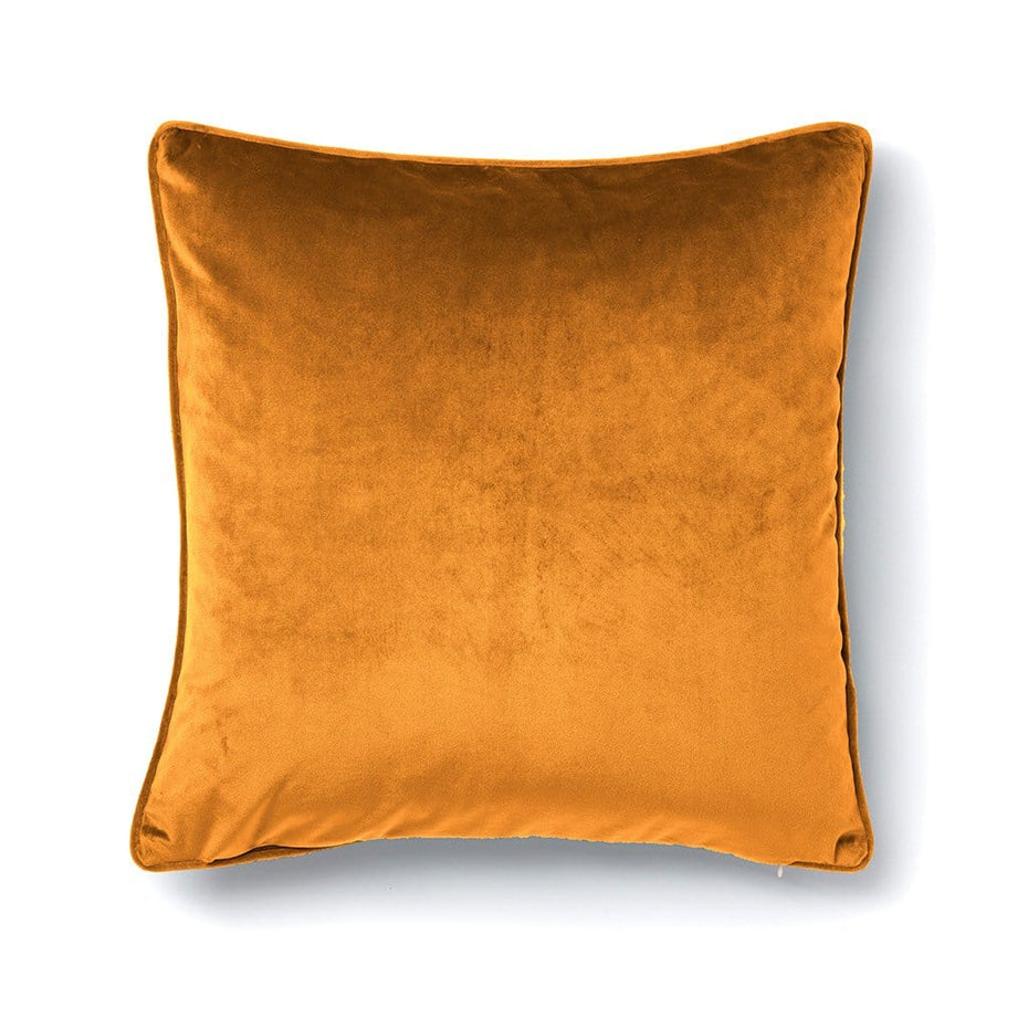 Sybil Halloween Reversible Velvet Throw Pillow