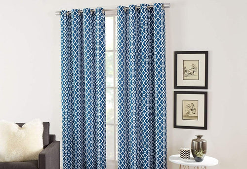 Lara 2 Piece Grommet Window Panel Set