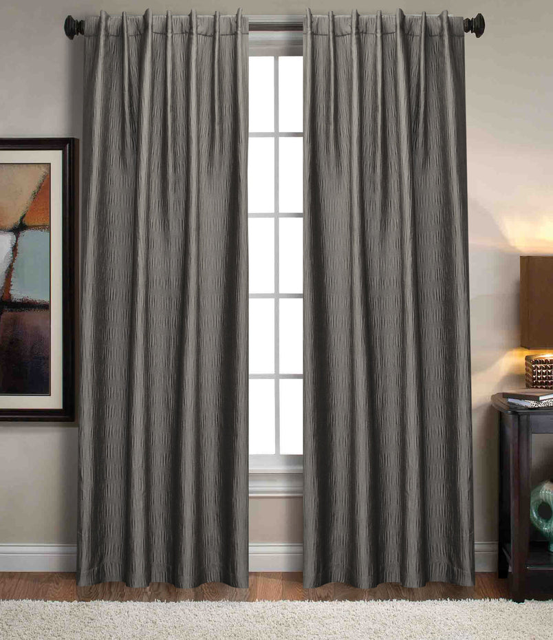 Sonoma Crinkle Texture Window Curtain Panel